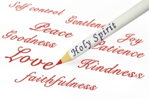 concepts of the fruits of the Spirit as from Galatians 5:22