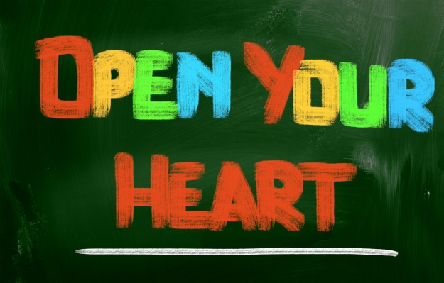 Open Your Heart Concept