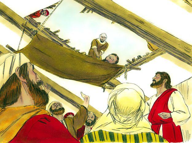 JESUS HEALS PARALYTIC.080416